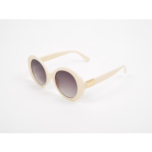 Ochelari de soare bej, ALDO, Gwera, din PVC