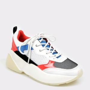 Pantofi sport ALDO albi ASTAONDRA din piele ecologica