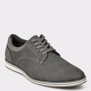 Pantofi ALDO gri, Cycia, din piele ecologica