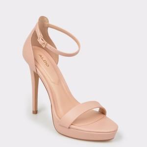 Sandale ALDO bej, Madalene, din piele ecologica