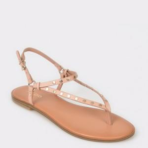 Sandale ALDO nude, Filanna, din piele ecologica