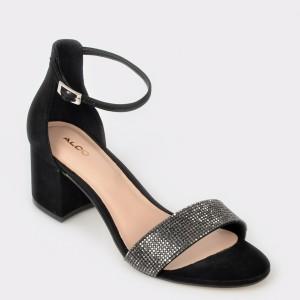 Sandale Aldo Negre, Gladoniel, Din Piele Naturala