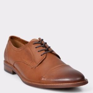 Pantofi ALDO maro, Cradowen, din piele naturala