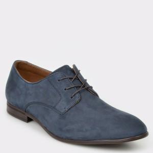 Pantofi ALDO bleumarin, Bansang, din piele naturala