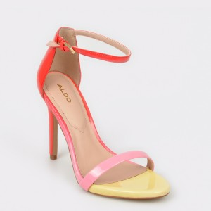 Sandale ALDO multicolore, Caraa, din piele naturala