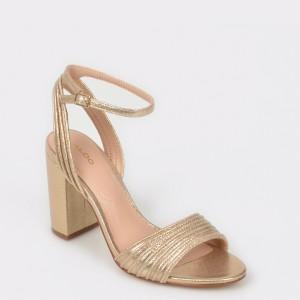 Sandale ALDO aurii, Glerin, din piele ecologica