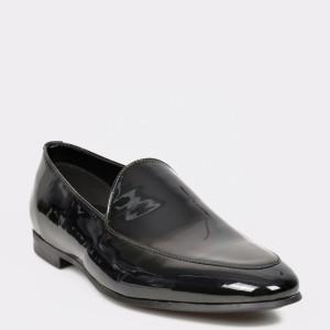 Pantofi ALDO negri Qirarien din piele naturala lacuita
