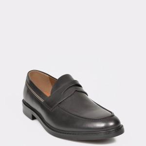 Pantofi ALDO negri Thelaven din piele naturala