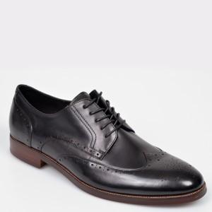 Pantofi ALDO negri Thirellan din piele naturala