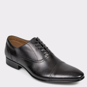 Pantofi ALDO negri Nalessi din piele naturala