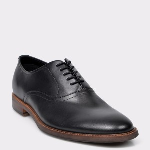 Pantofi ALDO negri 12654831 din piele naturala