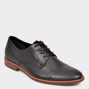 Pantofi ALDO negri Cradowen din piele naturala