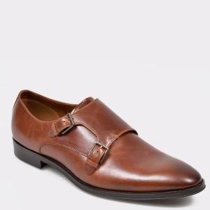 Pantofi ALDO maro Radodien din piele naturala