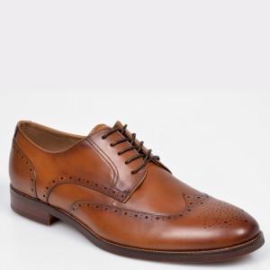 Pantofi ALDO maro Thirellan din piele naturala
