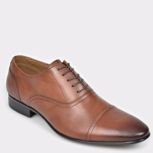 Pantofi ALDO maro Nalessi din piele naturala