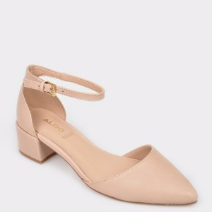 Pantofi ALDO nude, Zulian, din piele naturala