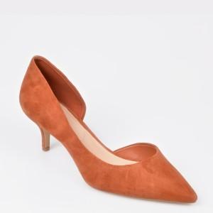 Pantofi ALDO maro Nyderindra din piele intoarsa