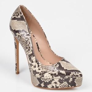 Pantofi ALDO bej Yellowfin din piele ecologica