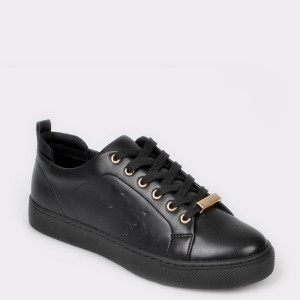 Pantofi sport ALDO negri, Mirarevia, din piele ecologica