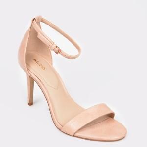Sandale ALDO nude, Eriressi, din piele ecologica