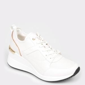 Pantofi sport ALDO albi, Thrundra, din piele ecologica