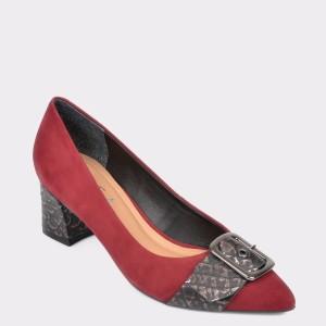 Pantofi EPICA visinii, 9686487, din nabuc