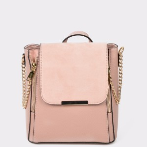 Rucsac CALL IT SPRING roz Thig680 din piele ecologica