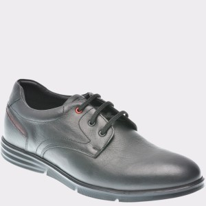 Pantofi Otter Negri, 403, Din Piele Naturala
