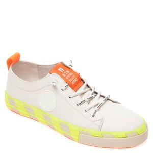 Pantofi BITE THE BULLET albi, 9399973, din piele naturala