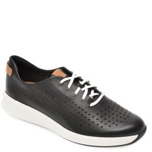 Pantofi CLARKS negri, Un Rio Tie, din piele naturala