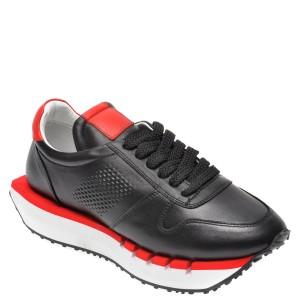 Pantofi EPICA negri, 296KYGO, din piele naturala