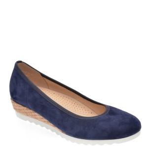 Pantofi GABOR bleumarin, 42641, din piele intoarsa