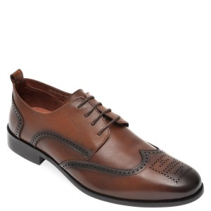 Pantofi OTTER maro, D21593, din piele naturala