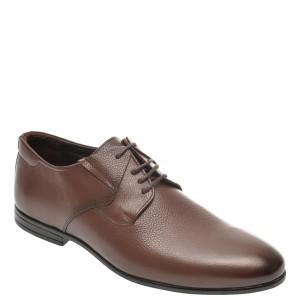 Pantofi OTTER maro, K33, din piele naturala