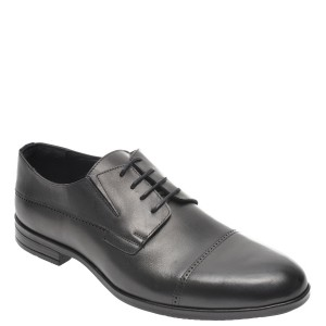 Pantofi OTTER negri, K34, din piele naturala