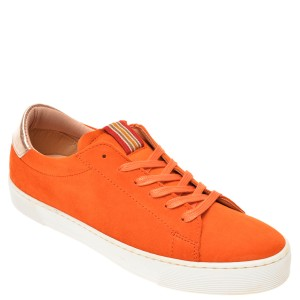 Pantofi SALAMANDER portocalii, 55301, din piele intoarsa