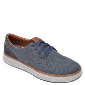 Pantofi SKECHERS bleumarin, Moreno Ederson, din material textil