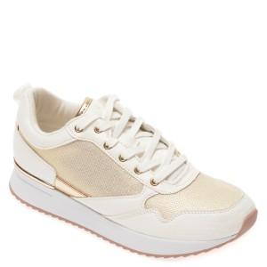 Pantofi sport ALDO albi, Genica100, din material textil