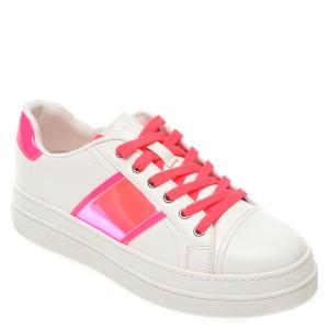 Pantofi sport ALDO albi Starburst670, din piele ecologica