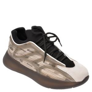 Pantofi sport BITE THE BULLET gri, 1010, din material textil si piele naturala