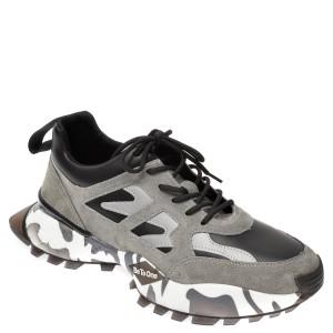 Pantofi sport BITE THE BULLET gri, 19903, din piele naturala