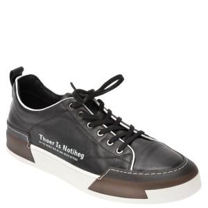 Pantofi sport BITE THE BULLET negri, 22069, din piele naturala