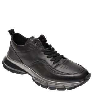 Pantofi sport BITE THE BULLET negri, 25770, din piele naturala