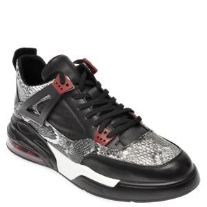 Pantofi sport BITE THE BULLET negri, 60256, din piele naturala