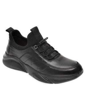 Pantofi sport BITE THE BULLET negri, G9571, din piele naturala