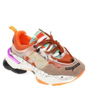 Pantofi sport FLAVIA PASSINI multicolori, L99189, din material textil si piele naturala
