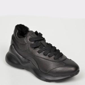 Pantofi sport FLAVIA PASSINI negre, 0637908, din piele naturala