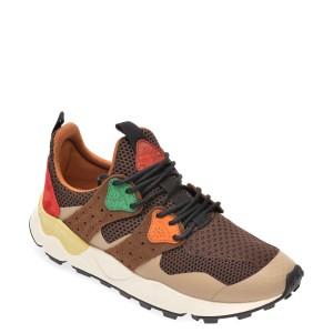 Pantofi sport FLOWER MOUNTAIN maro, 2014760, din material textil