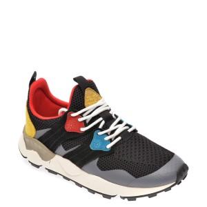Pantofi sport FLOWER MOUNTAIN negri, 2014760, din material textil