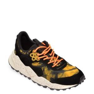 Pantofi sport FLOWER MOUNTAIN negri, 2014764, din material textil si piele intoarsa